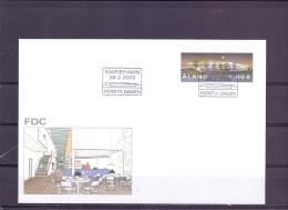 New Postterminal Sviby  - FDC - Michel 202 - Mariehamn  28/2/2002   (RM13448) - Aland