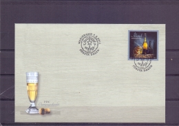 Champagnefyndet - FDC - Michel 345 - Mariehamn 3/6/2011   (RM13519) - Aland