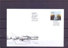 Alands Knstmuseum 50 är - FDC - Michel 369 - Mariehamn 15/1/2013  (RM13529) - Aland