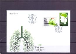 Think Green - FDC - Michel 425-26 - Mariehamn 9/5/2016  (RM13552) - Aland