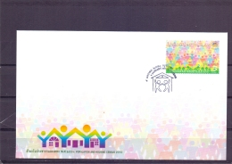 Population And Housing Census 2010  - FDC - Michel 2858 - Bangkok 5/1/2010  (RM13604) - Thaïlande