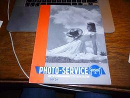Revue Photo Service Gevaert N°24 1951 24p - Photographie