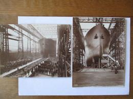 """STATENDAM"" HOLLAND-AMERICA LINE ROYAL MAIL STEAMER 2 PHOTOS 20cm/15cm (1914?) - Boats"