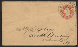 Louisiane - Entier Postal 3 Cents Expédié De New Orleans Le 19 Mai 1857 (Lot 400) - Timbres