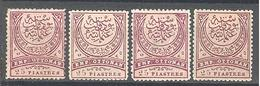Turquie: Yvert N° 49*; Cote 140.00€; PROMOTION PETIT PRIX!!! - 1858-1921 Empire Ottoman