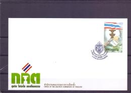 Office Election Commisssion Thailand - FDC - Michel 2904 - Bangkok 9/6/2010  - (RM13665) - Thaïlande