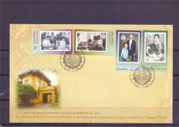 Celebration 150th Anniversary Birth Queen Sri  Savarindira - FDC - Michel 2945-48 - Bangkok 10/9/2010  - (RM13681) - Thaïlande