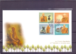 100th Anniversary Panyananda Bhikkhu - FDC - Michel 3038-41 - Bangkok 11/5/2011  (RM13698) - Thaïlande