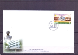 120th Anniversary Department Science Service - FDC - Michel 3047 - Bangkok 23/6/2011  (RM13704) - Thaïlande