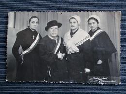 RARE !!!! Carte Photo CHATEAUMEILLANT - Comité De Saint Vincent Du Quartier Saint Martin - En 1952 - Voir Les 3 Scans - Châteaumeillant