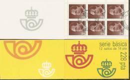 1986-ED. 2834C(II)-BÁSICA REY JUAN CARLOS I - USADO- - 1931-Hoy: 2ª República - ... Juan Carlos I