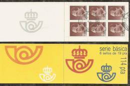 1986-ED. 2834C (I)-BÁSICA REY JUAN CARLOS I -USADO- - 1931-Hoy: 2ª República - ... Juan Carlos I