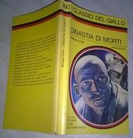 W. IRISH   - DINSTIA DI MORTI  - I CLASSICI DEL GIALLO MONDADORI 1977 - N. 280 - Gialli, Polizieschi E Thriller