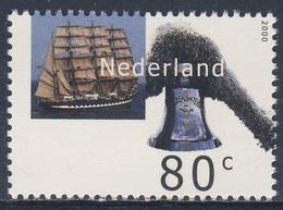 Nederland Netherlands Pays Bas 2000 Mi 1811 ** Kruzenshtern (1926) - Tall Ship, Russia / Viermaststahlbark - Barche