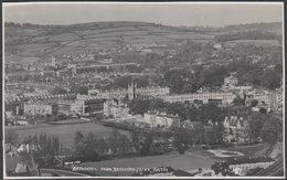 Bathwick From Beechen Cliff, Bath, Somerset, C.1950s - RP Postcard - Bath