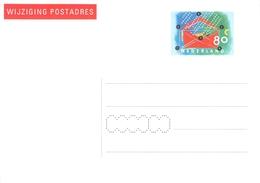 NETHERLANDS - WIJZIGING POSTADRES 80c 1997 Mi #AÄK 57 - Postal Stationery