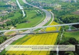 LGV RHIN / RHONE - Carte Postale - Le Viaduc De La Savoureuse Trévénans (90, France). Voir 2 SCANS. - Chemin De Fer