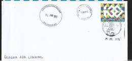 ARGENTINA 2011 FRAGATA  A.R.A. LIBERTAD , CANCELLED >Central Salvador -Dakar -Senegal -Montevideo - Stamps