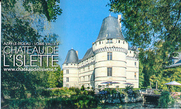 Ticket D´entrée : Château De L'Islette (Indre-et-Loire), Azay-le-Rideau, 2 Scans, TBE - Tickets D'entrée