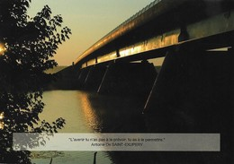 LGV RHIN / RHONE - Carte Postale - Le Viaduc De La Saône à Poncey-les Athée (21, France). Voir 2 SCANS. - Railway