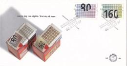 Nederland - FDC - Honderd Voor Uw Zaken - Insteken In Enveloppe/dichtplakken Van Enveloppe - NVPH E360 - Post