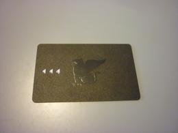 China Shanghai Tomorrow Square JW Marriott Hotel Room Key Card - Cartes D'hotel