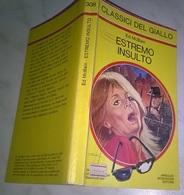 E. MCBAIN  - ESTREMO INSULTO  - I CLASSICI DEL GIALLO MONDADORI 1978 - N. 308 - Livres, BD, Revues