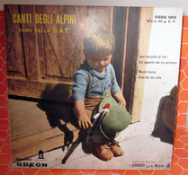 "CANTI DEGLI ALPINI S.A.T.  45 GIRI  7"" - Country & Folk"