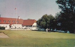 The Club House And 18th Hole, Belleville Golf Course, Belleville, Ontario - Ontario