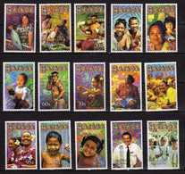 Samoa 2002 Local Life.FACES OF SAMOA FULL SET OF 15 Stamps. MNH - Samoa
