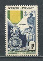 SPM MIQUELON 1952  N° 347 ** Neuf MNH Superbe  C 19,20 € Centenaire Médaille Militaire Soldats - Ongebruikt