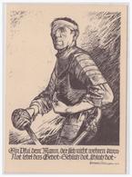 Dt- Reich (001136) Propagandakarte Gau Baden, Gaubeauftragten Des WHW , Ein Pfui Dem Mann, Der Sich Nicht Wehren Kann - Germany