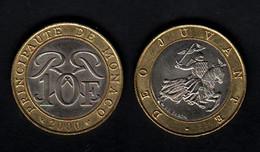 Monaco  10 Francs 2000 10F - 1960-2001 Nouveaux Francs