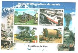 Niger Train Sheet Mnh ** Low Start At 1 Euro - Niger (1960-...)