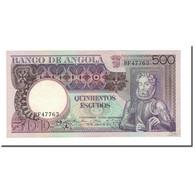 Billet, Angola, 500 Escudos, 1973, 1973-06-10, KM:107, SPL - Angola