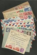 Lot De Lettres Diverses....affranchissement....destination - Collections