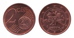 Lithuania / 2015 / 2 Euro Cent / VF - Lituania