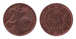 Estonia / 2012 / 2 Euro Cent / VF - Estonia