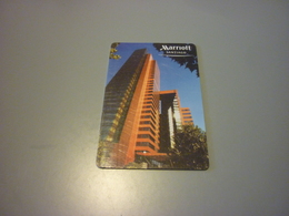 Chile Santiago Marriott Hotel Room Key Card (Coca Cola) - Cartes D'hotel
