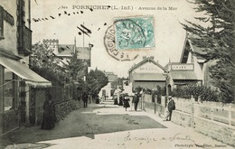 Pornichet (43), Avenue De La Mer. Superbe Carte - Pornichet