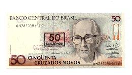 Brasile - 1990 - Banconota Da 50 Nuovi Cruzados - Nuova - (FDC12178) - Brasile