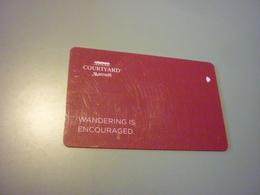 Hong Kong Marriott Courtyard Hotel Room Key Card (MoMo) - Cartes D'hotel