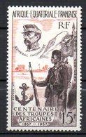 Col10  :  AEF Afrique PA : N° 62 Neuf X MH , Cote : 3,50 Euro - Neufs