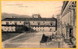 Santiago De Compostela - Hospital Real - Fototipia De HAUSER Y MENET - Santiago De Compostela