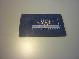 Indonesia Bali Grand Hyatt Hotel Room Key Card - Cartes D'hotel