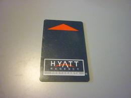 Indonesia Yogyakarta Hyatt Regency Hotel Room Key Card - Cartes D'hotel
