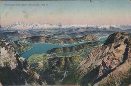 Schweiz - Monte Generoso - Panorama - 1912 - TI Tessin