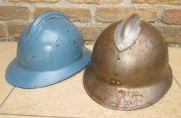 2 Coques Adrian M26 - 1939-45