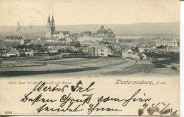 005558  Klosterneuburg - Obere Stadt Mit Chorherrenstift Und Kirche  1904 - Klosterneuburg