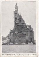 Lot De 50 CPA De PARIS Toutes Scannées: Monuments;; Tour Eiffel, Ponts; églises, Rues, Etc. - 5 - 99 Cartes